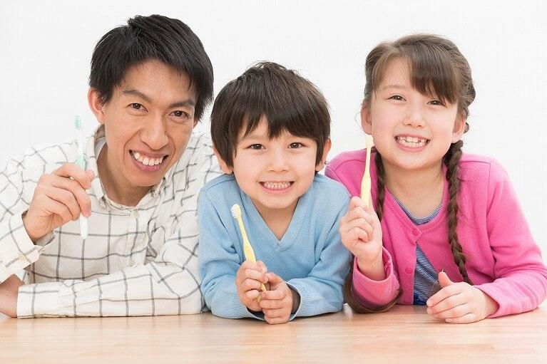 虫歯になりやすい乳歯列期・混合歯列期は特に予防に重点を